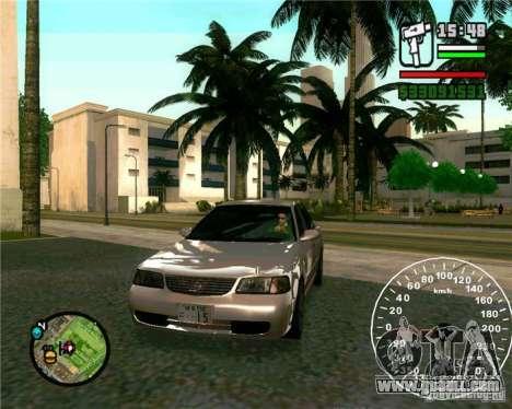 Nissan Sunny for GTA San Andreas