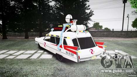 Cadillac Ghostbusters for GTA 4 back left view