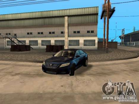 Toyota Camry 2007 for GTA San Andreas back view