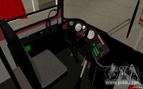 IKARUS 250 for GTA San Andreas upper view