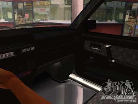 VAZ 21099 for GTA San Andreas upper view