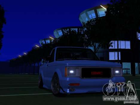 GMC Syclone Drift for GTA San Andreas