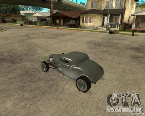 Ford 34 Rod for GTA San Andreas left view