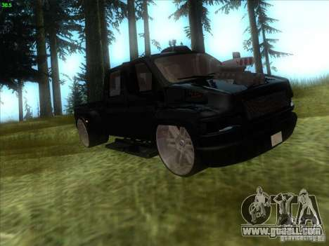GMC C4500 Pickup DUB Style for GTA San Andreas left view