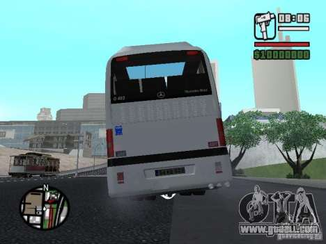 Mercedes Benz O 403 for GTA San Andreas right view