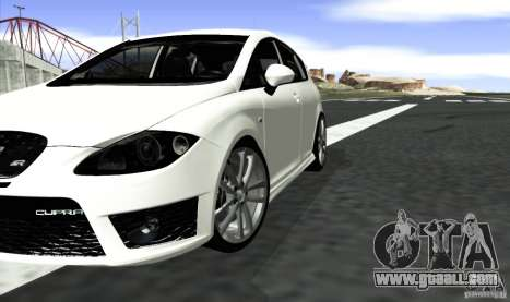 Seat Leon Cupra R for GTA San Andreas back left view