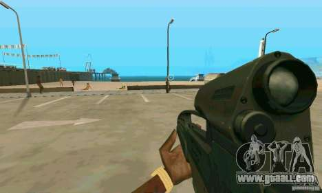 XM8 for GTA San Andreas third screenshot