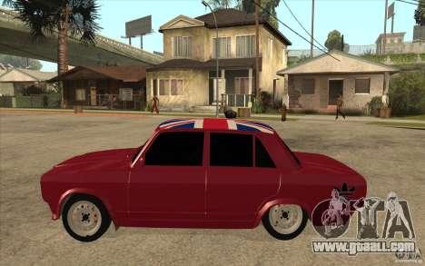 VAZ 2107 Hobo v. 2 for GTA San Andreas left view