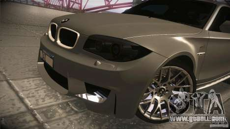 BMW 1M E82 Coupe 2011 V1.0 for GTA San Andreas side view