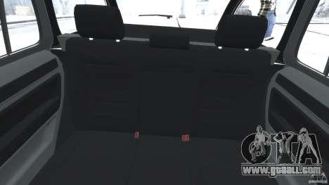 Skoda Octavia Scout Stock for GTA 4 back view