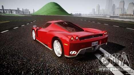 Ferrari Enzo for GTA 4 back left view