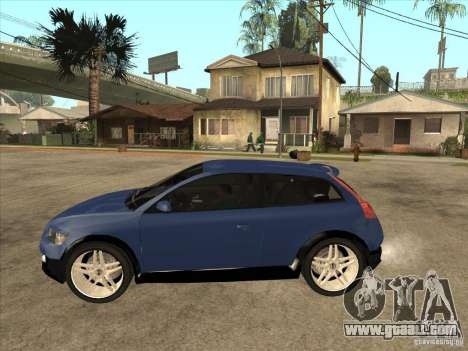 VOLVO C30 Sport 2009 for GTA San Andreas left view