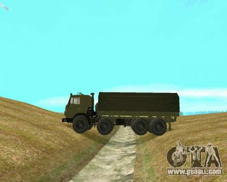 KAMAZ-6350 for GTA San Andreas back left view