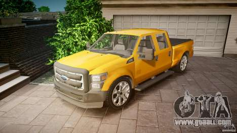 Ford F350 Stock for GTA 4