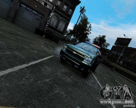 Chevrolet Tahoe Hungarian Vam-Zoll Custom for GTA 4 right view