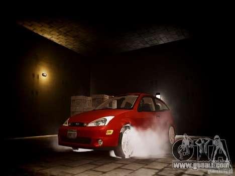 Ford Focus SVT 2003 for GTA 4 back view