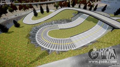 Edem Hill Drift Track for GTA 4 forth screenshot