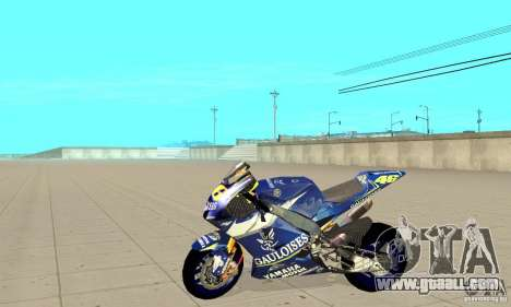 Honda Valentino Rossi Fcr900 for GTA San Andreas left view
