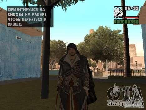 Ezio auditore in armor of Altair for GTA San Andreas