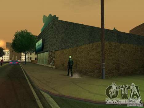 Andreas's Cafe for GTA San Andreas