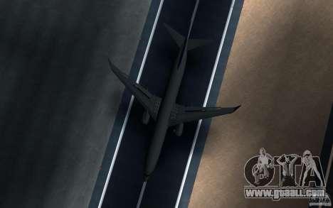 Sukhoi SuperJet-100 for GTA San Andreas back view