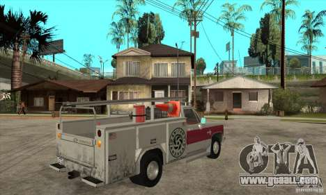 Chevrolet Silverado - utility for GTA San Andreas right view