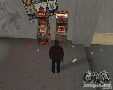New textures of eateries and shops for GTA San Andreas third screenshot