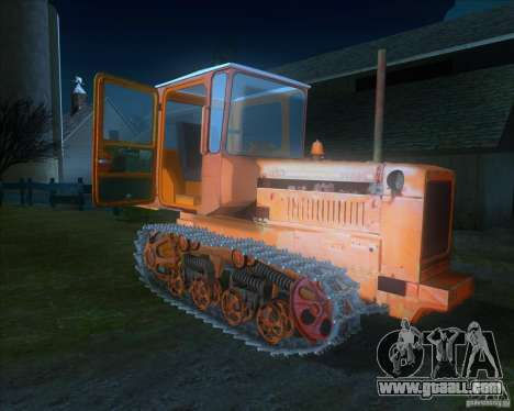 Tractor DT-75 Postman for GTA San Andreas left view