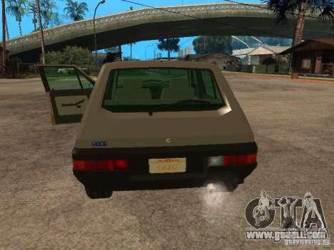 Fiat Ritmo for GTA San Andreas back view