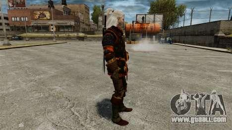 Geralt of Rivia v4 for GTA 4 second screenshot