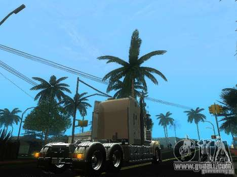 Kenworth T908 for GTA San Andreas back view