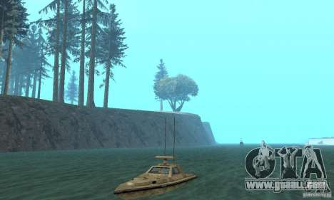 GTA III Ghost for GTA San Andreas