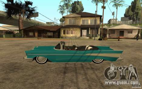 Chevrolet Bel Air 1956 Convertible for GTA San Andreas left view