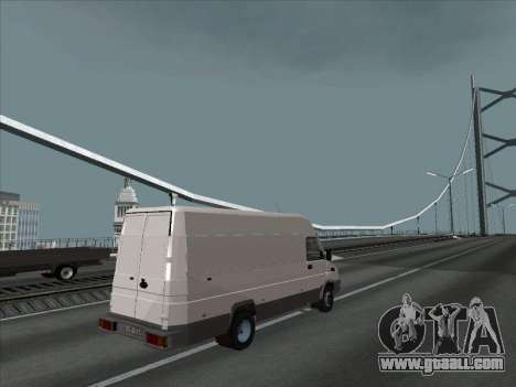 Iveco TurboDaily 35-10 for GTA San Andreas left view
