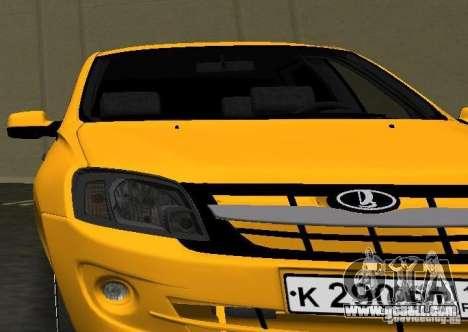 Lada Granta v2.0 for GTA Vice City back view
