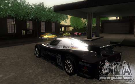 Maserati MC12 GT1 for GTA San Andreas right view