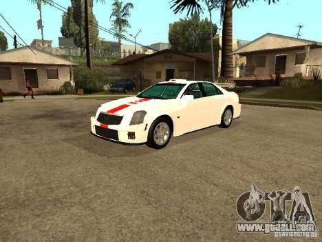 Cadillac CTS 2003 Tunable for GTA San Andreas inner view