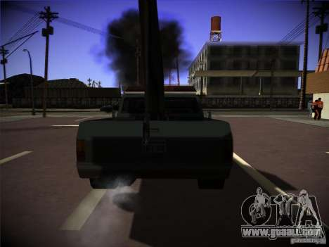 Sadler tow truck for GTA San Andreas back left view