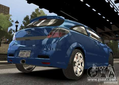 Opel Astra OPC for GTA 4 right view