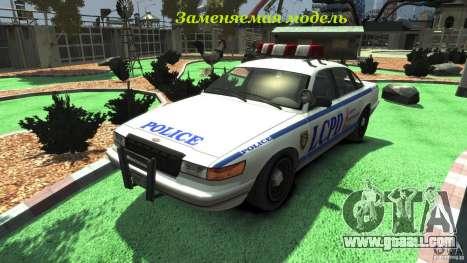 Police Bike for GTA 4 inner view
