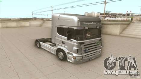 Scania V8 for GTA San Andreas right view