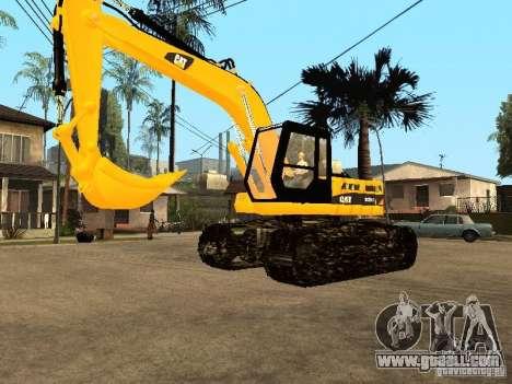 Excavator CAT for GTA San Andreas