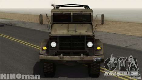 AM General m-939A2 1983 for GTA San Andreas back left view