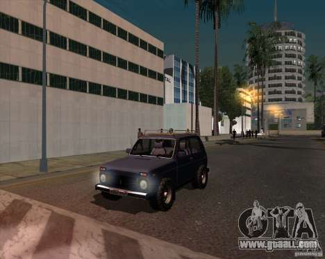 VAZ 21213 Offroad for GTA San Andreas right view