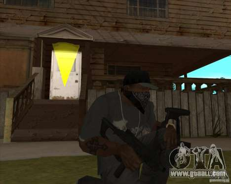 Resident Evil 4 weapon pack for GTA San Andreas third screenshot