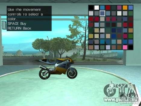 Automobile Salon for GTA San Andreas fifth screenshot