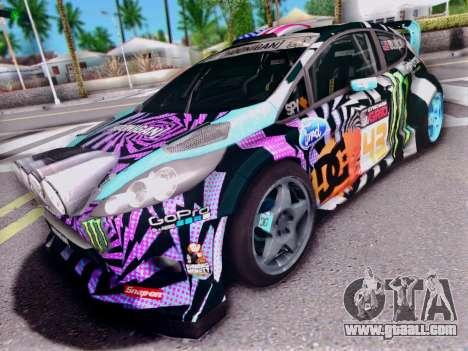 Ford Fiesta Gymkhana 6 for GTA San Andreas