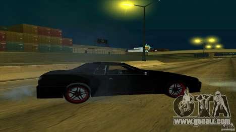 New elegy v1.0 for GTA San Andreas back left view