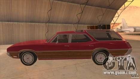 Oldsmobile Vista Cruiser 1972 for GTA San Andreas left view