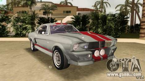 Ford Shelby GT500 for GTA Vice City